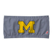 League Collegiate Outfitters University of Michigan Women's Navy/White Herringbone Bandeau