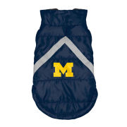 Little Earth University of Michigan Pet Puffer Vest