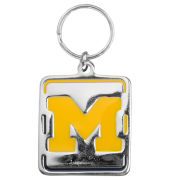 Little Earth University of Michigan Engraveable  Pet Collar Charm