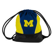 Logo University of Michigan String Bag