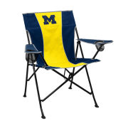 Logo Brands University of Michigan ''Pregame'' Collapsible Tailgate Chair