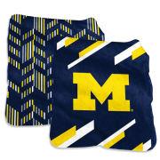 Logo Brands University of Michigan Super Plush Blanket