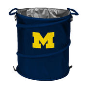 Logo University of Michigan 3-in-1 Cooler, Hamper, Wastebasket