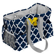Logo University of Michigan Navy Jr. Caddy Tote