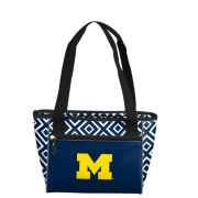 Logo Brands University of Michigan 16 Can Cooler Tote