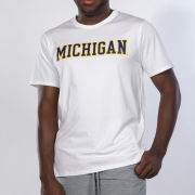 lululemon University of Michigan White The Fundamental Tee<br><b>[Temporarily Out of Stock]</b>