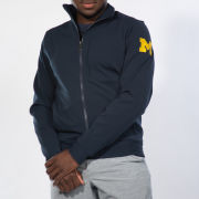 lululemon University of Michigan Navy Sojourn Full-Zip Track Jacket