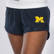 lululemon University of Michigan Women's Navy Hotty Hot Short Low-Rise 2.5''<br><b>[Temporarily Out of Stock]</b>