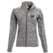 Levelwear University of Michigan Women's Marble Gray ''Atlantis'' Full-Zip Jacket