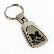 LXG University of Michigan Class of 2020 Tear Drop Keychain