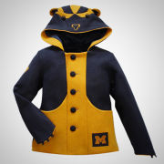 HAIL Brand University of Michigan Women's Wolverine Coat