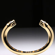 MaraWatch & Co. University of Michigan 18k Yellow Gold Plated Wolverine Bangle
