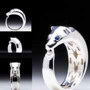 MaraWatch & Co. University of Michigan .925 Sterling Silver Wolverine Ring