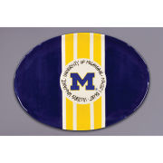 Magnolia Lane Pottery University of Michigan Mascot Platter
