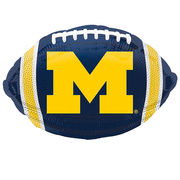 Mayflower Balloons University of Michigan Football Foil Balloon