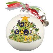 Magnolia Lane University of Michigan Christmas Tree Ornament