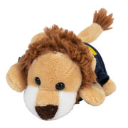 Mascot Factory University of Michigan ''Chublets'' Plush Lion Stuffed Animal