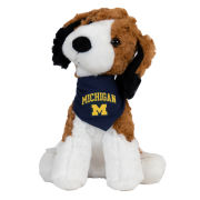 Mascot Factory University of Michigan Mighty Tykes Beagle Plush Dog Stuffed Animal