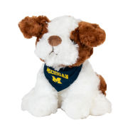 Mascot Factory University of Michigan ''Zoe'' Plush Dog Stuffed Animal