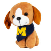 Mascot Factory University of Michigan ''Pupparazzi'' Plush Beagle Dog Stuffed Animal