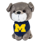 Mascot Factory University of Michigan ''Pupparazzi'' Plush Schnauzer Dog Stuffed Animal