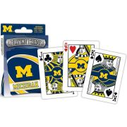 Masterpieces University of Michigan Playing Cards