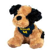 Mascot Factory University of Michigan ''Ernie'' Plush Dog Stuffed Animal