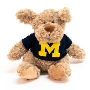 Mascot Factory University of Michigan Dog CuddleBuddy Stuffed Animal
