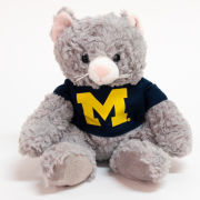 Mascot Factory University of Michigan Cat CuddleBuddy Stuffed Animal