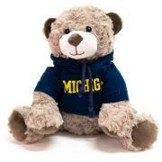 Mascot Factory University of Michigan Wilson Teddy Bear with Hooded Sweatshirt