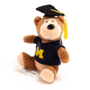 Mascot Factory University of Michigan 4'' Graduation Bear Ornament