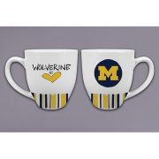 Magnolia Lane University of Michigan ''Wolverine at Heart'' Ceramic Mug