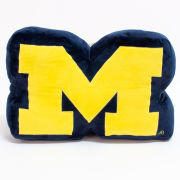 Mascot Factory University of Michigan Block ''M'' Pillow