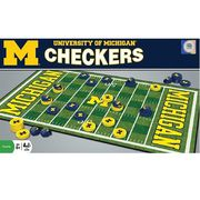 Masterpieces University of Michigan Football Checkers