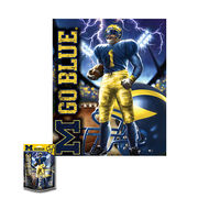 Masterpieces University of Michigan Football 100pc Kids Puzzle