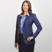 Martin Greenfield University of Michigan Women's Hand Tailored Blue Blazer