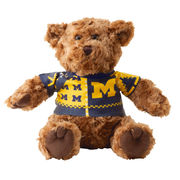 Chelsea Teddy Bear Co. University of Michigan Ugly Holiday Sweater Bear