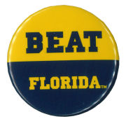 MCM University of Michigan Beat Florida Button