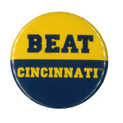 MCM University of Michigan Beat Cincinnati Button