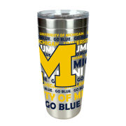 MCM University of Michigan Alumni 20 oz. Viking Nova Stainless Steel Tumbler