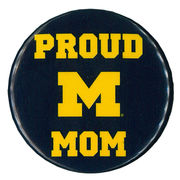 MCM University of Michigan Proud Mom Button