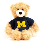 Jardine University of Michigan 12'' Beige Brandon Bear