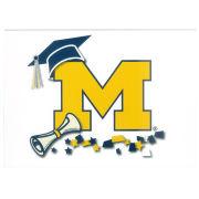 Fanatic Cards University of Michigan Graduation Block ''M'' Greeting Card