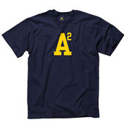 University of Michigan Navy A2 (Ann Arbor) Tee