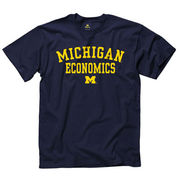 New Agenda University of Michigan Economics Navy Tee