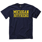 New Agenda University of Michigan Boyfriend Navy Tee