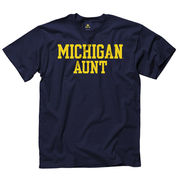University of Michigan Aunt Navy Tee