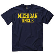 University of Michigan Uncle Navy Tee