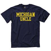 University of Michigan Uncle Navy Tee