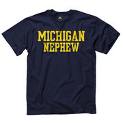 University of Michigan Nephew Navy Tee